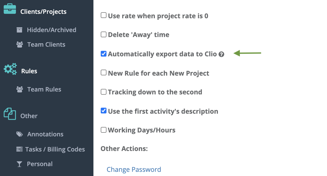 Automatic Time Capture for Clio Lawyers